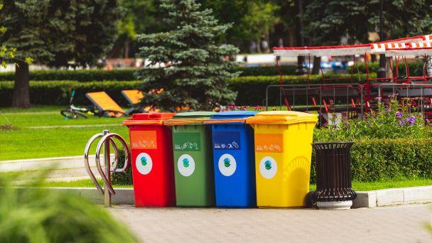 Zber separovaného odpadu