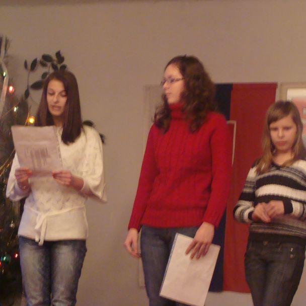 Vianočné vystúpenie, 25.12.2009