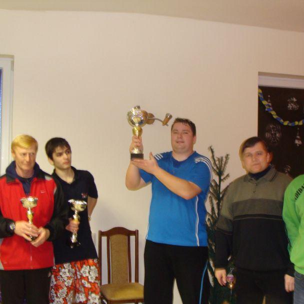 Novoročný stolnotenisový turnaj 2011