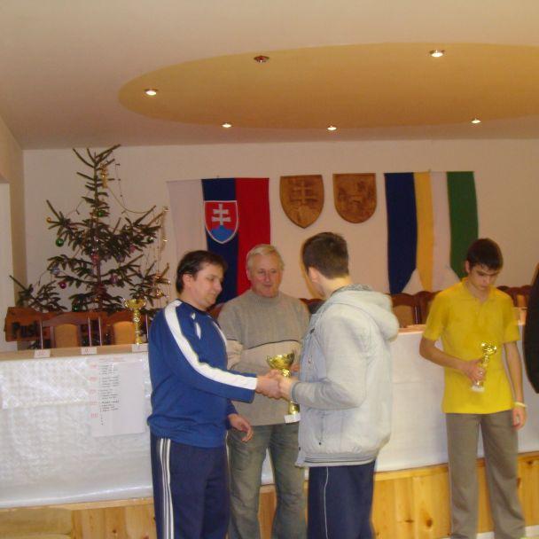 Novoročný stolnotenisový turnaj 2012
