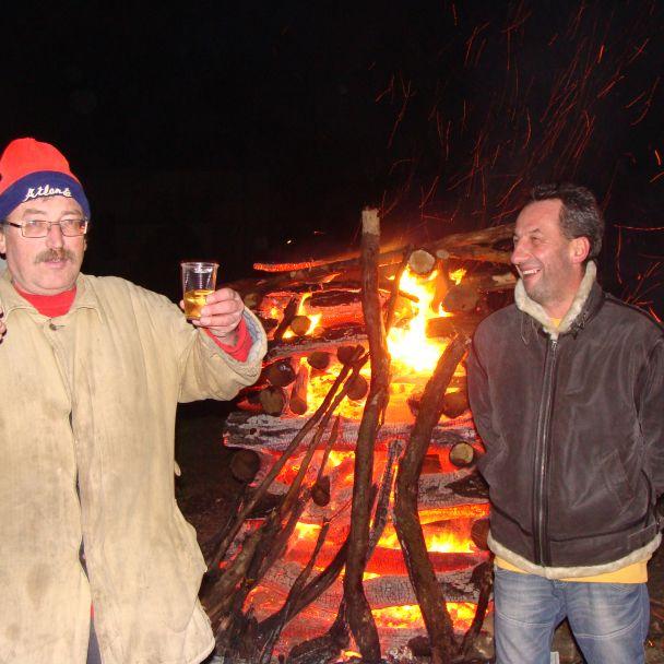 Silvestrovská vatra 2012