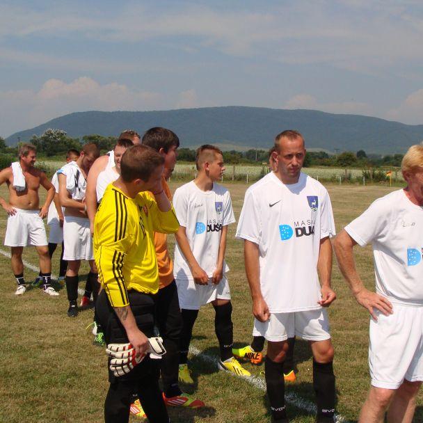 55. výročie založenia futbalu v obci