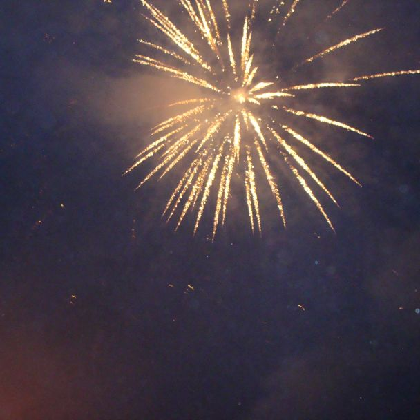 Silvestrovská vatra 2013
