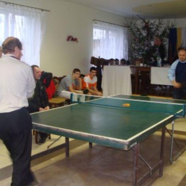 Novoročný stolnotenisový turnaj 2014