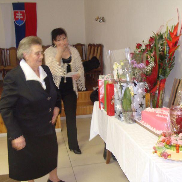 Oslava 80-tych narodenín Irena Kuzemková